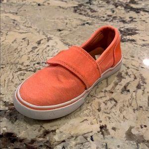 Cat & Jack slip on Velcro sneaker EUC